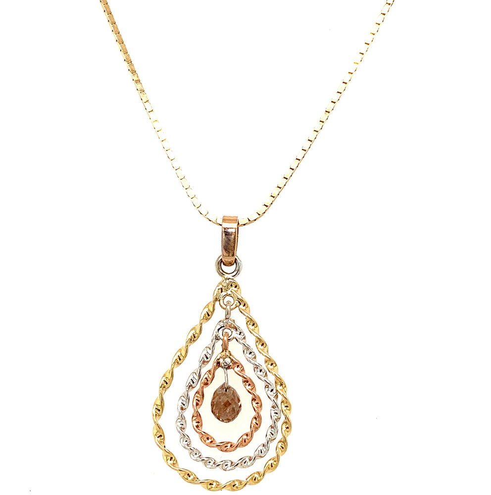 Rose Gold Brio Necklace