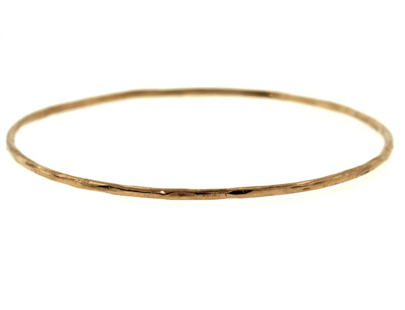 Rose Gold Rogue River Bangle