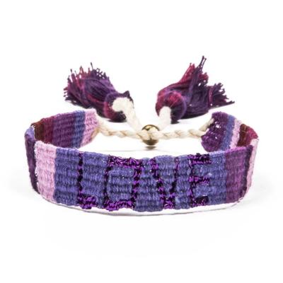 ATITLAN LOVE BRACELET - PURPLE