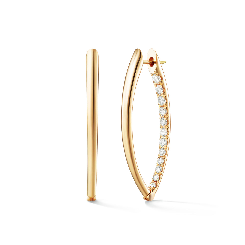 CristinaEarring Medium Hoops
