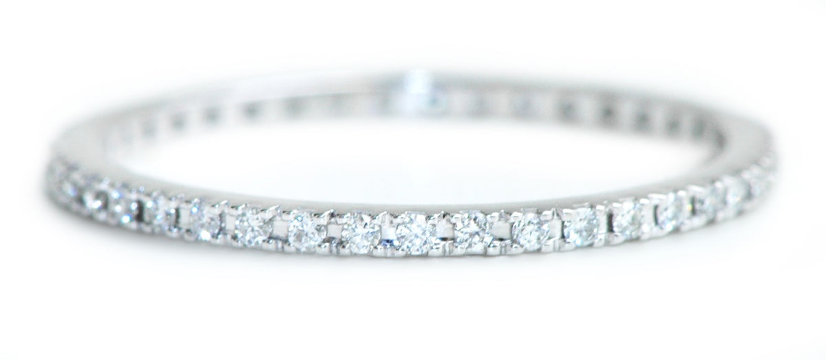 ETERNITY RING WHITE DIAMONDS