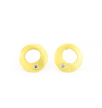 MINI HALO STUD EARRINGS