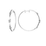 Stardust Station Hoop Earrings