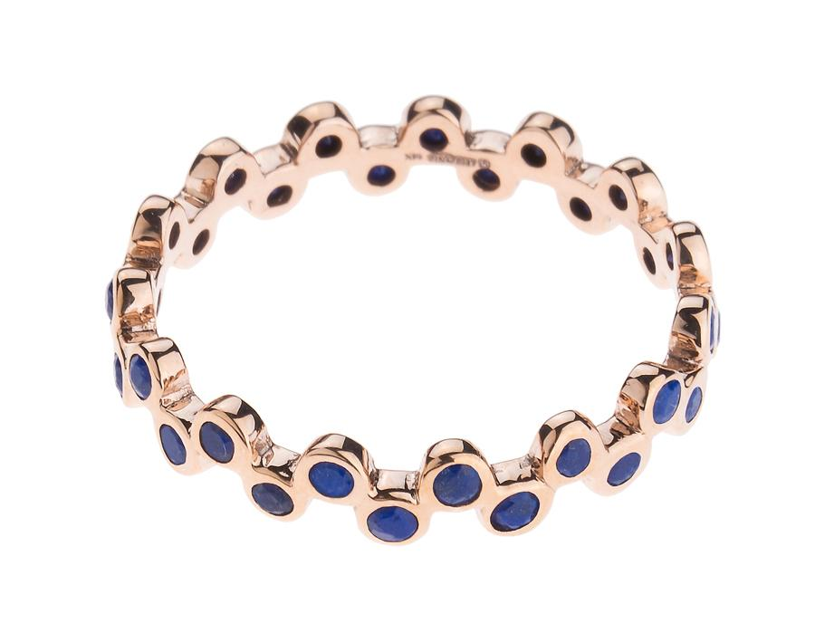 LAPIS SEMILLA ETERNITY BAND