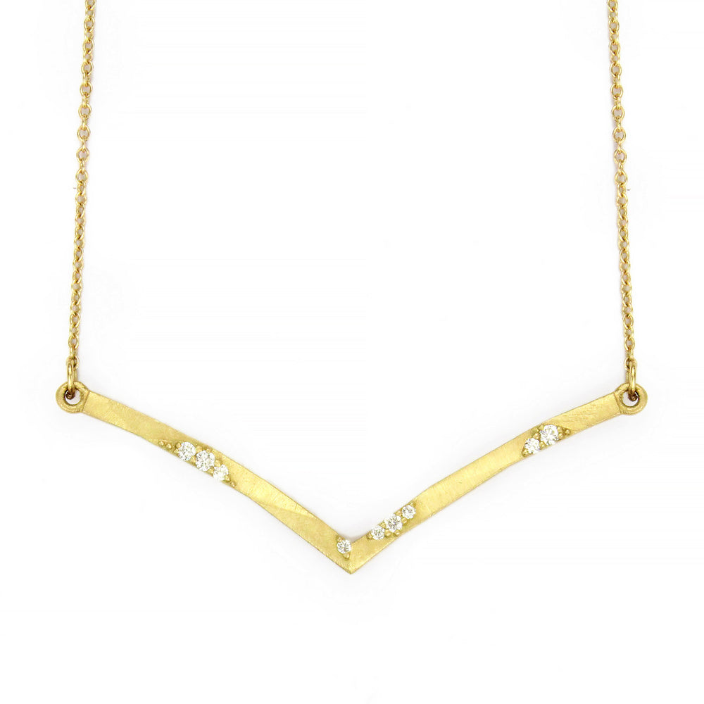 GEO FALLING STAR NECKLACE