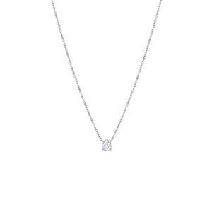 18KW Diamond Necklace