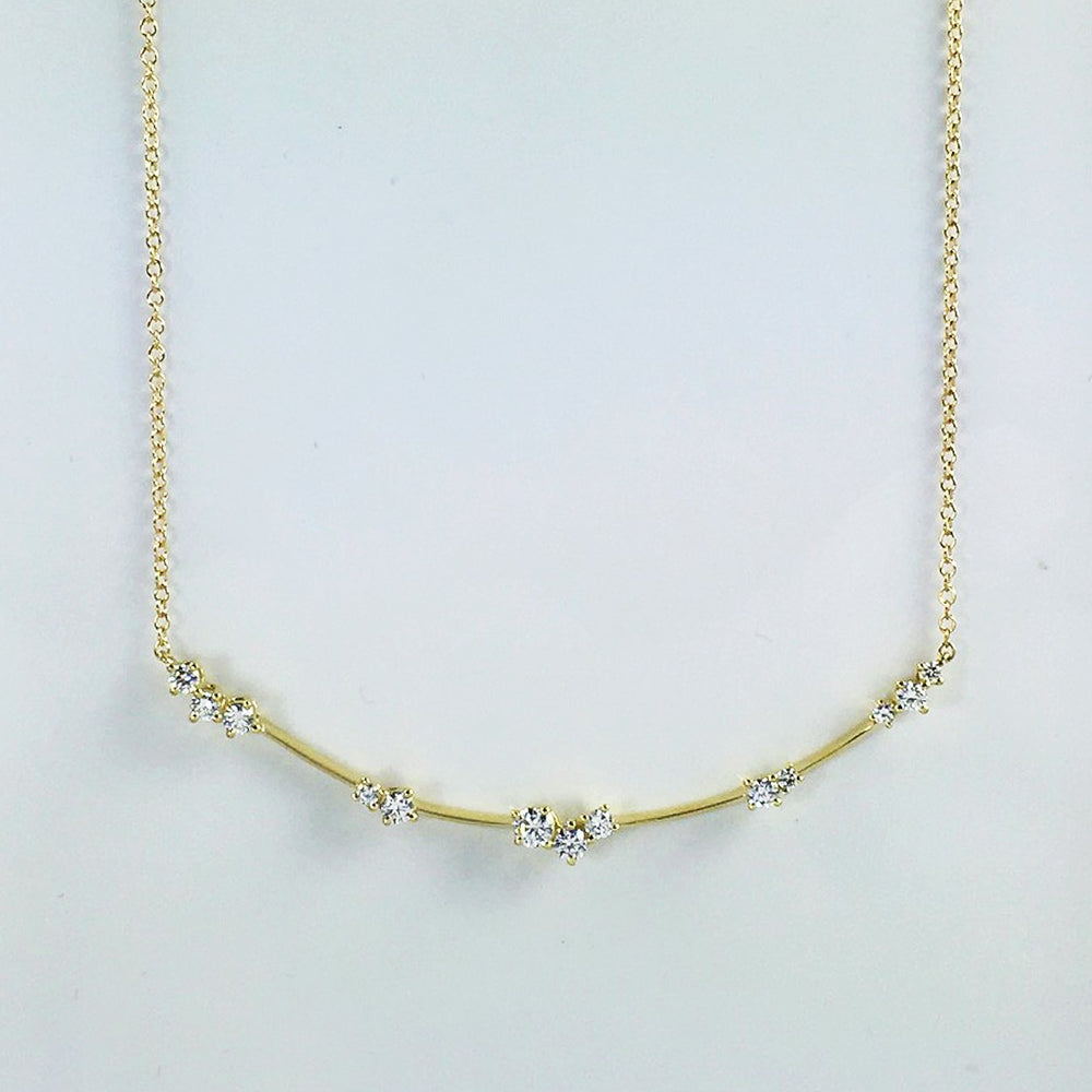 Constellation Star Bar Necklace