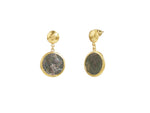Drop Earrings with Roman Coins