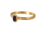 Amethyst Delicate Stacking Ring