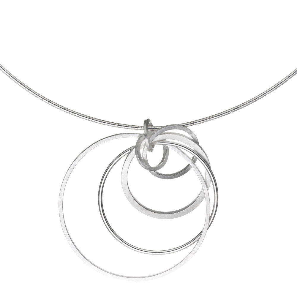 Interlock Circle Pendant
