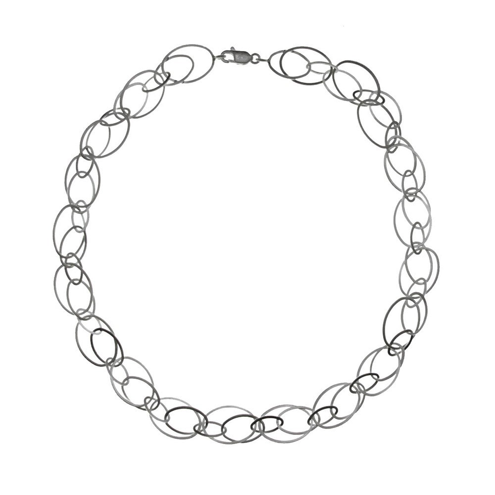 Multi-Shape Link Necklace