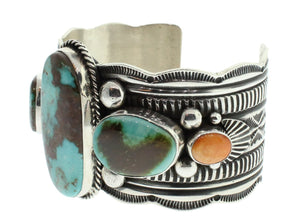 Turquoise And Oyster Bracelet