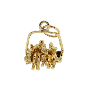 Family Ski Chair Charm