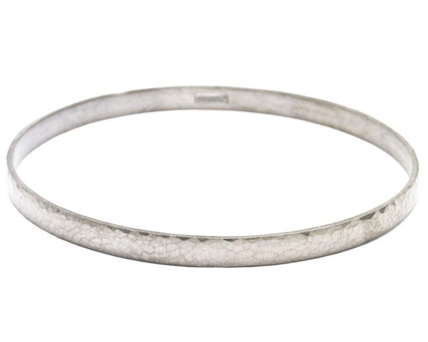 Silver Midnight Bangle