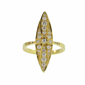 Gold and Diamond Taavi Ring
