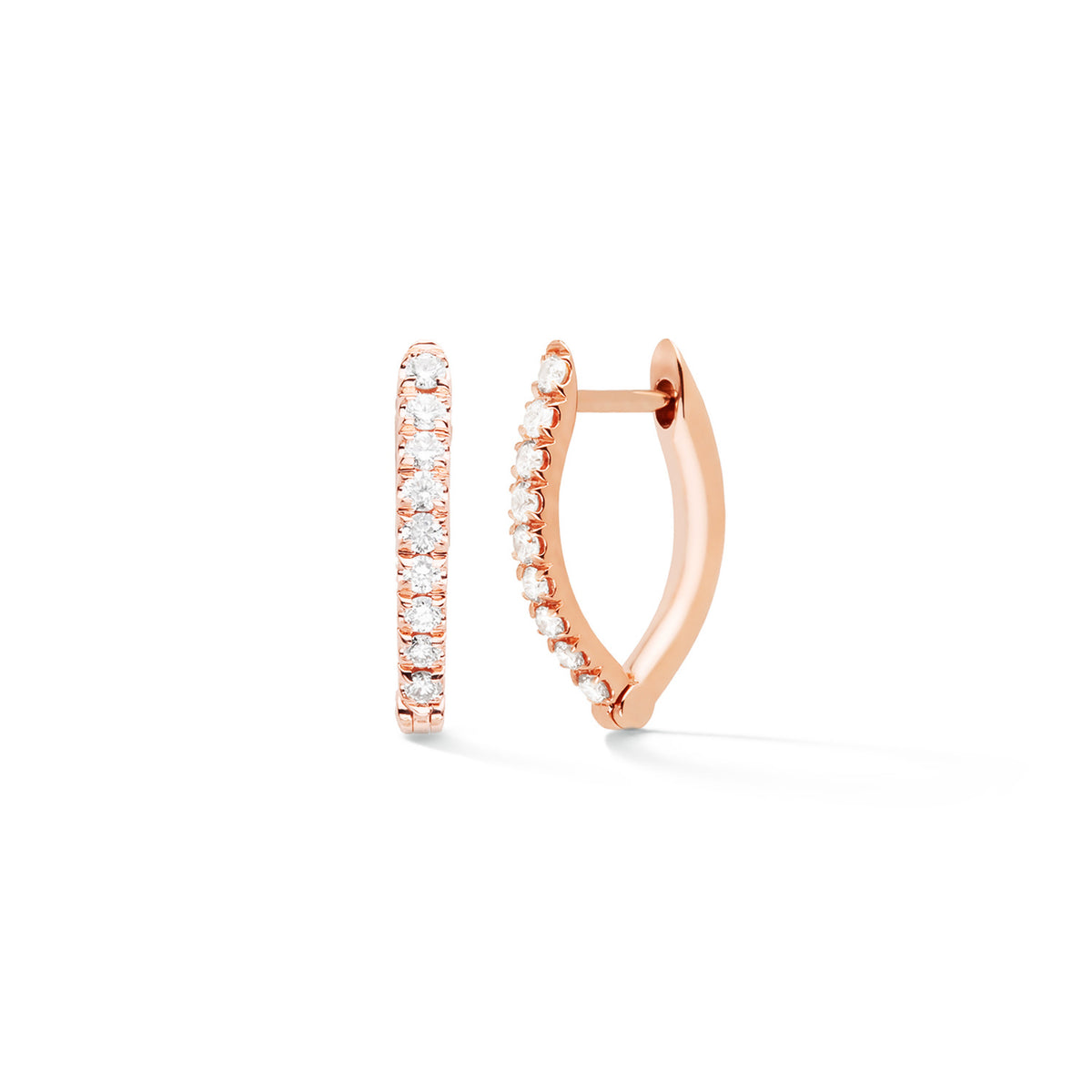 Cristina Earrings Small Hoops