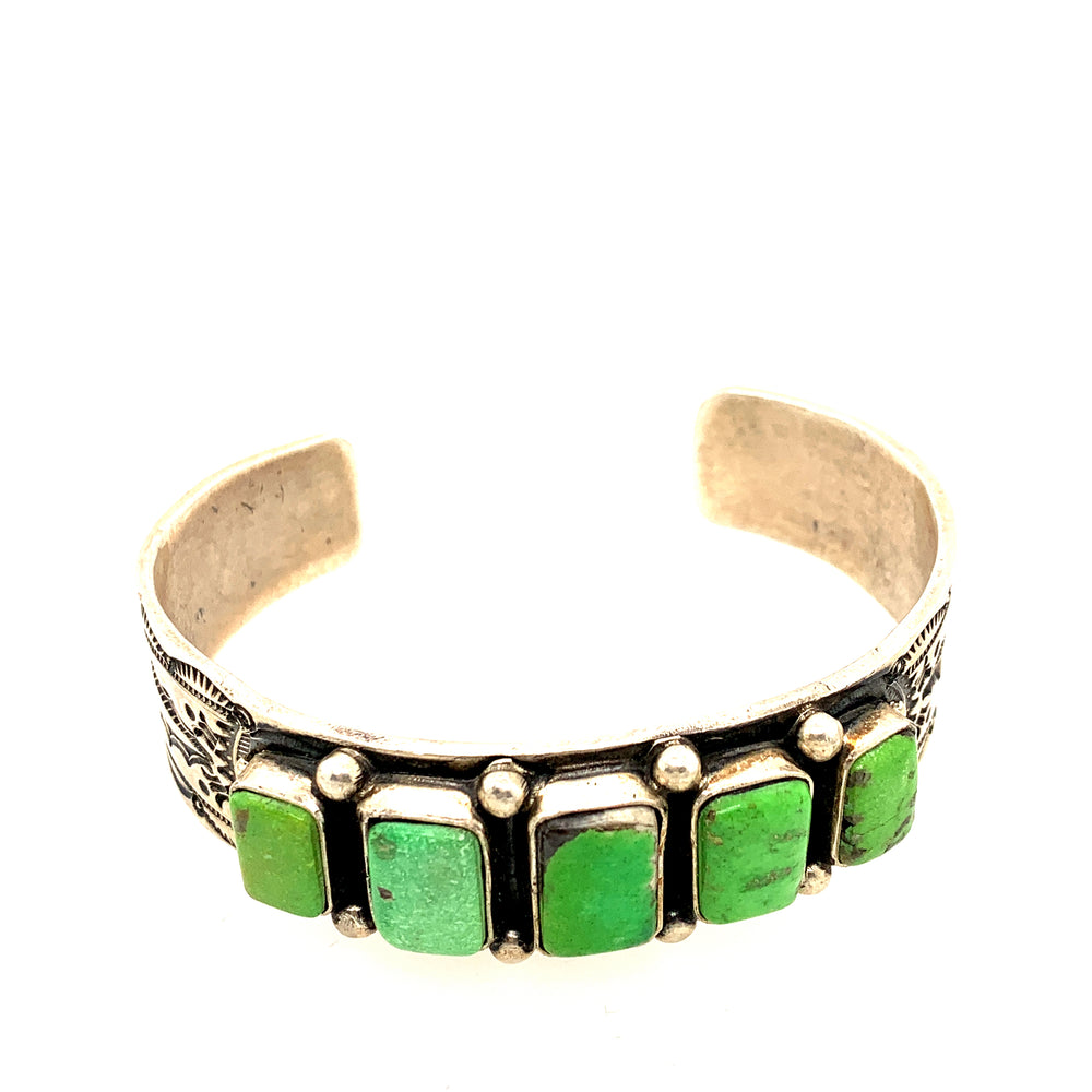 Northern Lights Turquoise Cuff