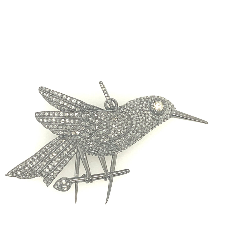 Sterling Silver Bird Pendant