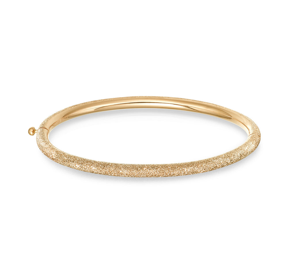 FLORENTINE FINISH THICK BANGLE