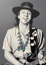 Stevie Ray Vaughn Print