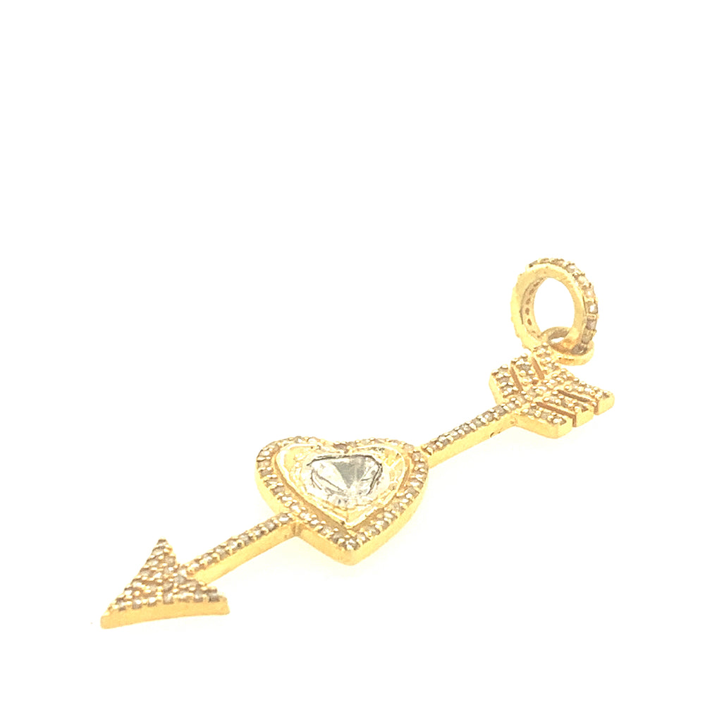 Gold Arrow Pendant