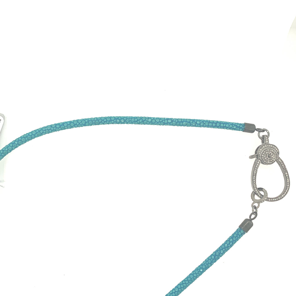 Turquoise Stingray Necklace