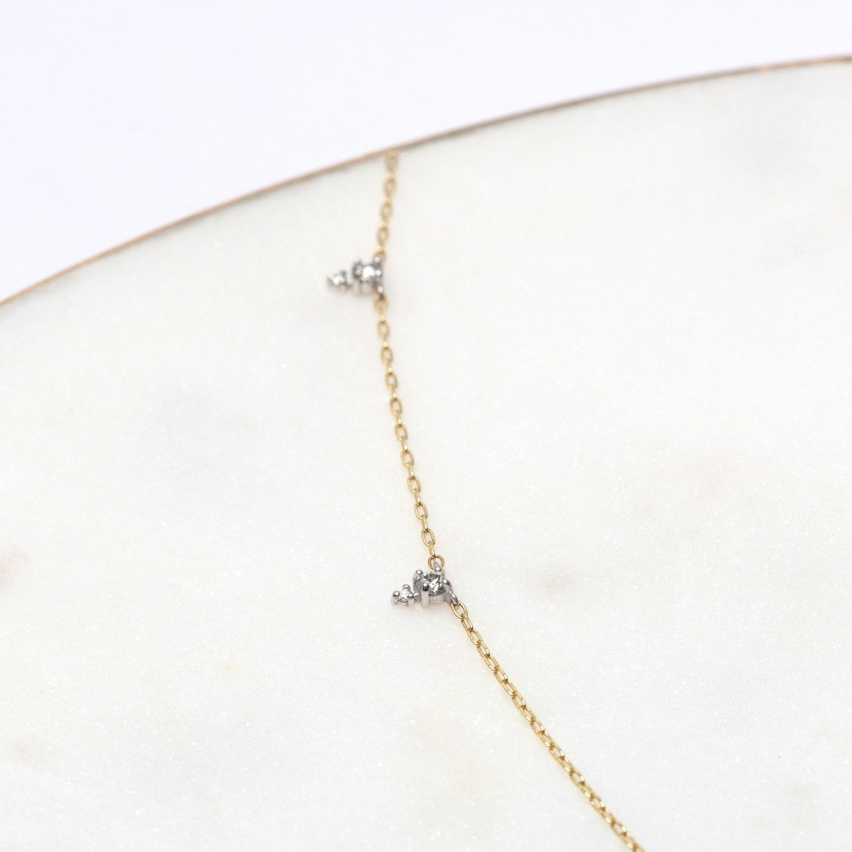 Devere Necklace in Diamonds