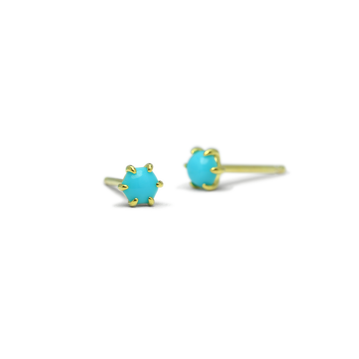 Kyndall Turquoise Studs