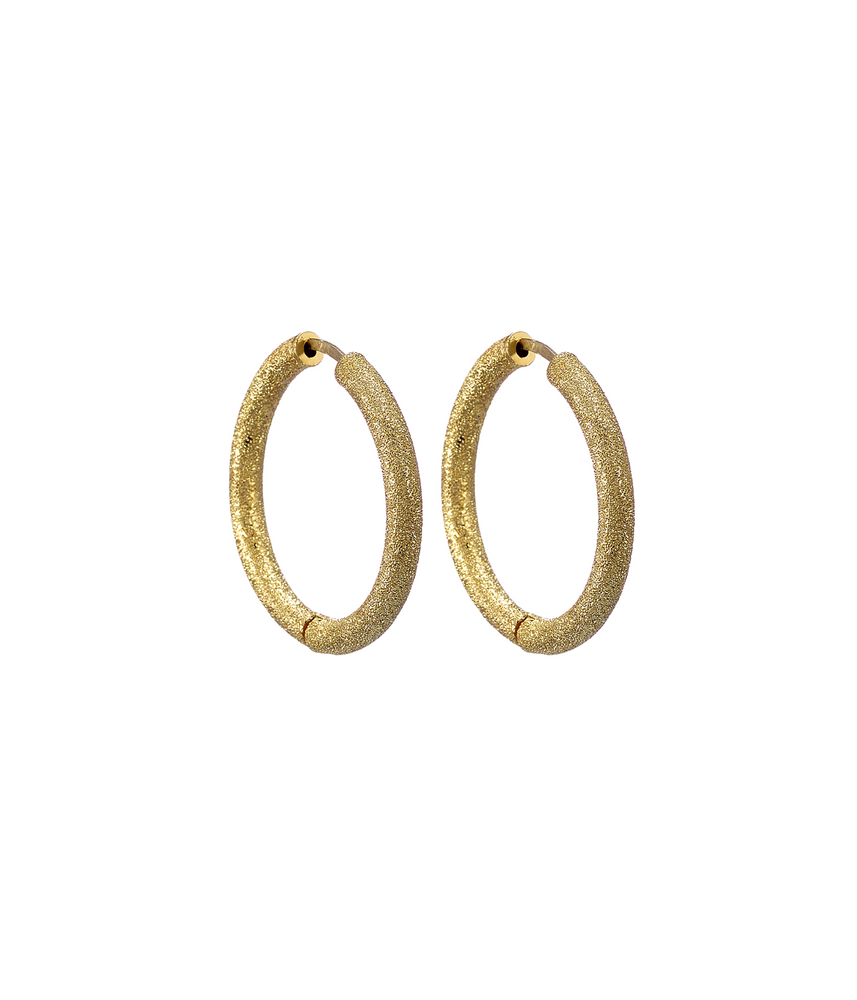 Small Florentine Hoops