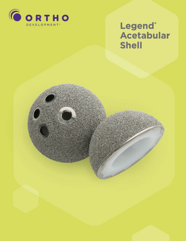 Legend Acetabular Shell Product Info- PDF download only