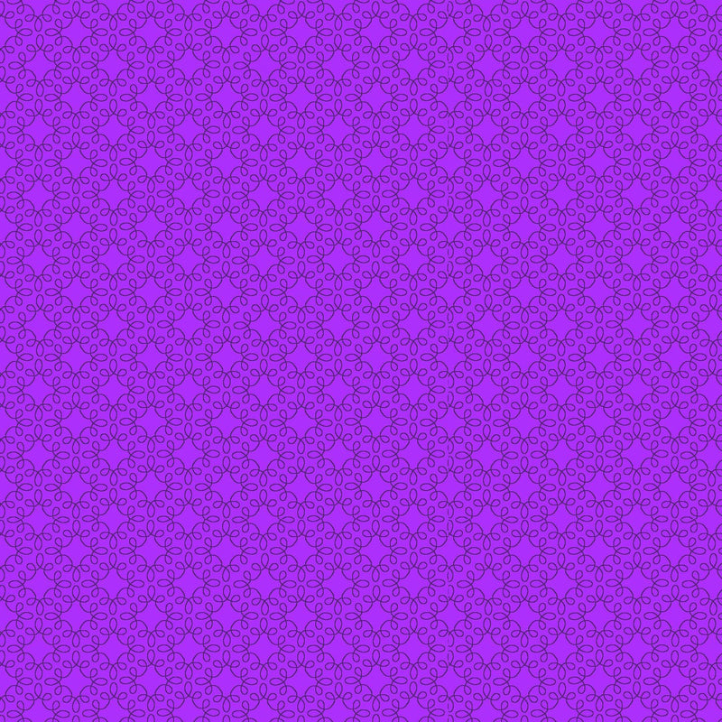 Henry Glass Fabric Pattern Modern Melody Basic Color Purple Filagree Geo 1063-57