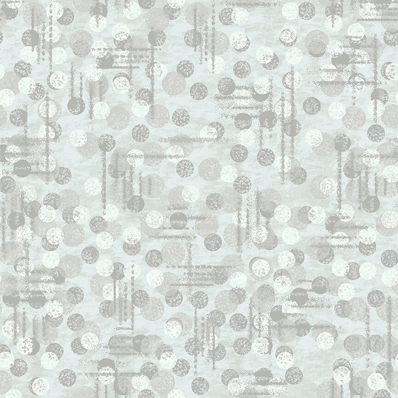 Blank Quilting Pattern Jot Dot Color Light Gray 9570-90