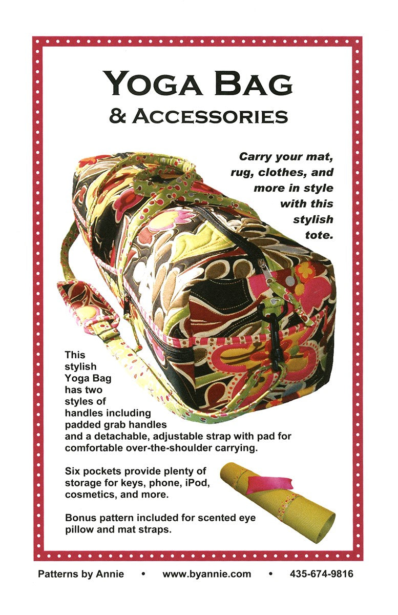 Yoga Bag & Accessories Pattern