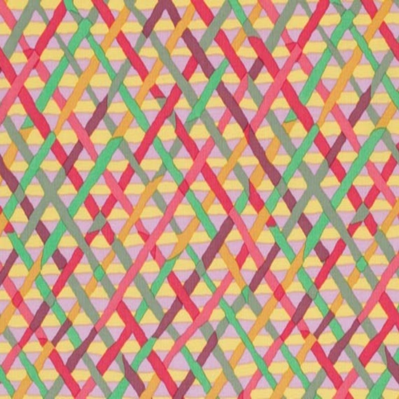 Mad Plaid Color Mauve PWBM037.Mauve  Brandon Mably For Kaffe Fassett Collective