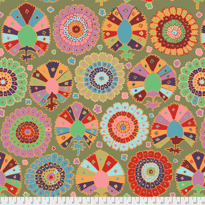 Turkish Delight Color Moss PWGP081.Moss  Kaffe Fassett Collective