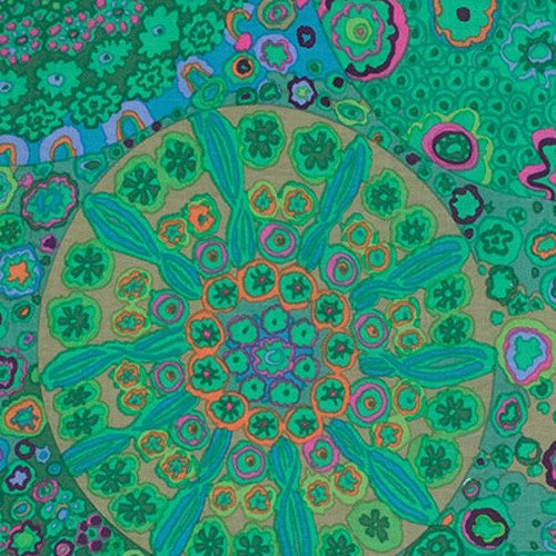 Millefiore Color Jade PWGP092.JADEX  Kaffe Fassett Collective Print