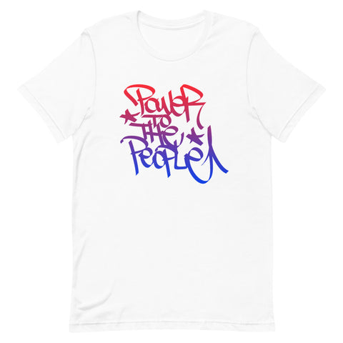 Give A Damn Vote X MadClout X PTTP Tee, White
