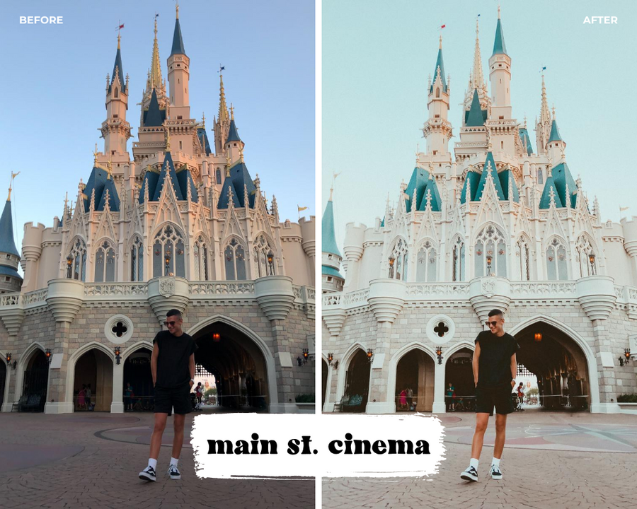 Main Street Cinema Lightroom Preset - Jambo Joe Presets