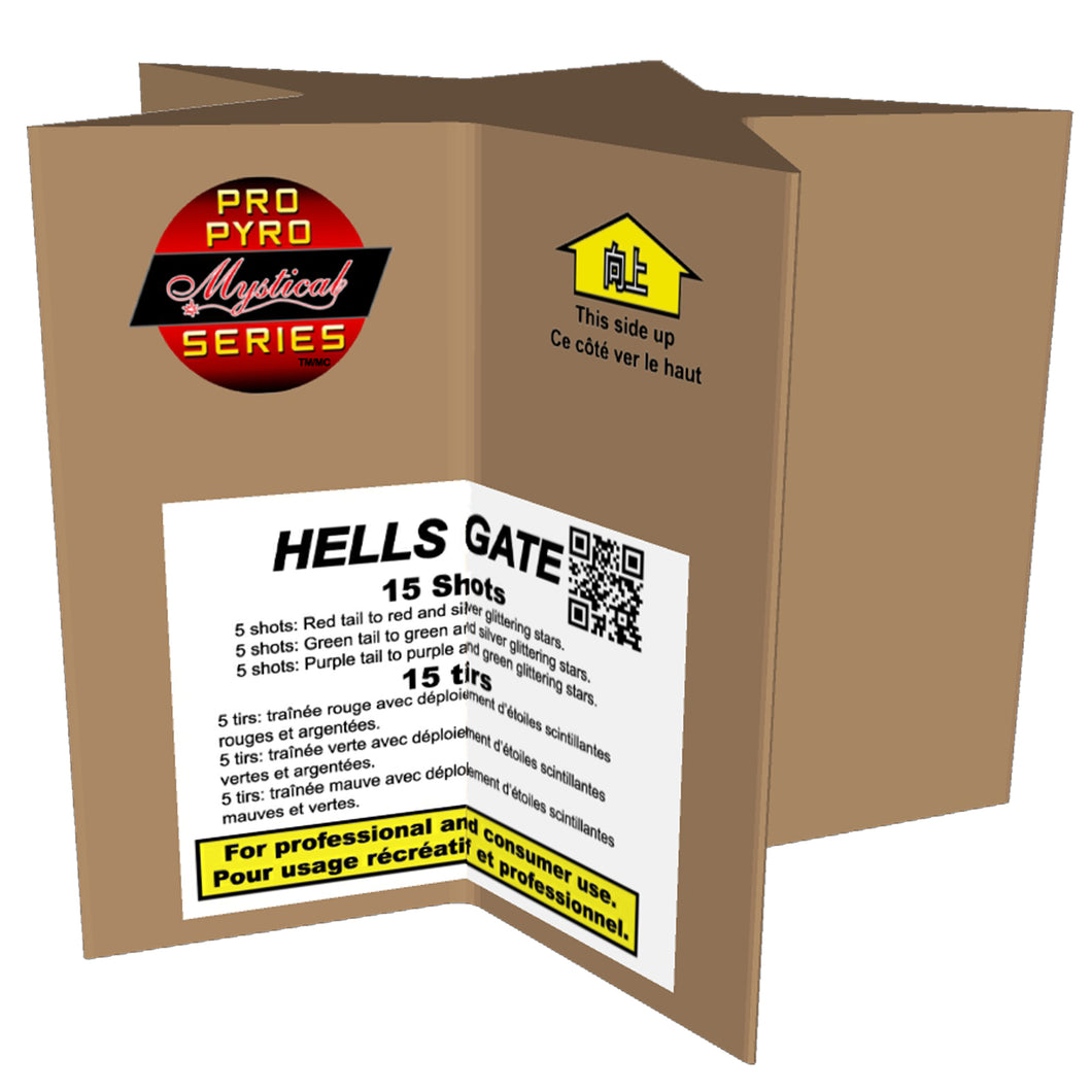 HELL'S GATE PRO PYRO SERIES
