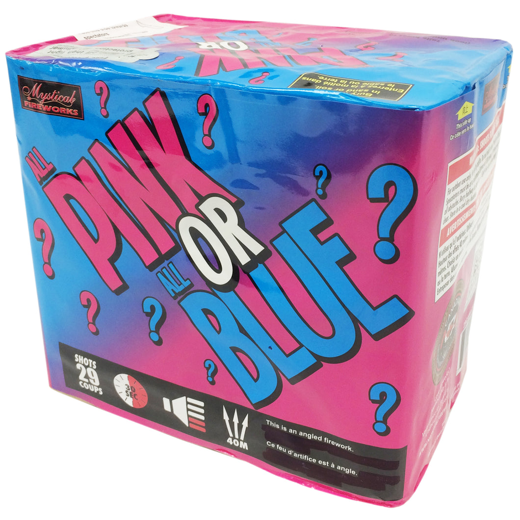 PINK or BLUE (Pink Version)