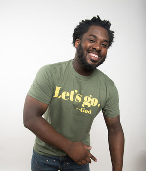 "SHORT-SLEEVED ""LET'S GO"" TEE  