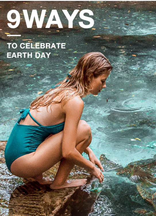 9 WAYS TO CELEBRATE EARTH DAY