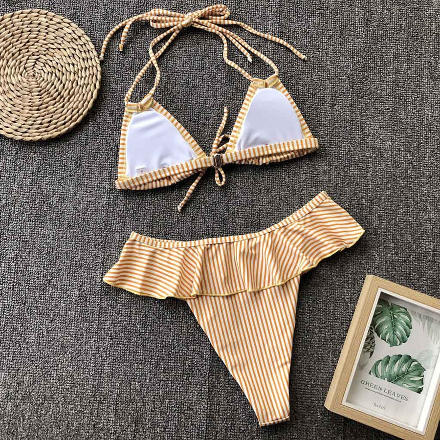 Amber Sexy Two Piece Swimsuit