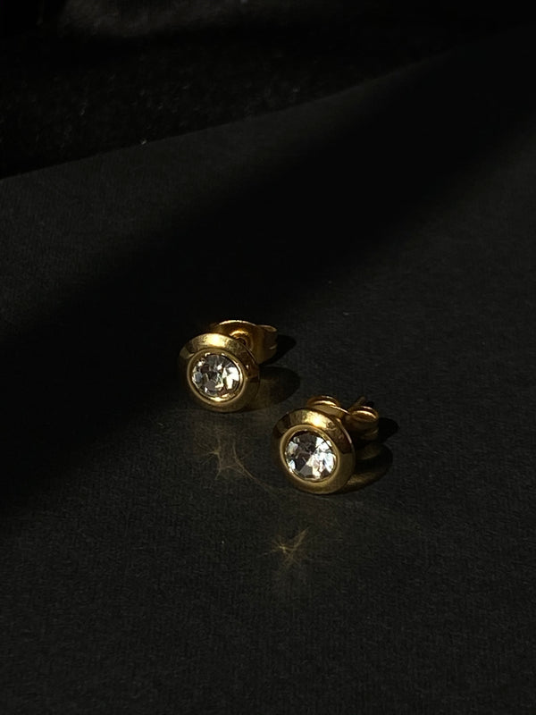 Ashley CZ Stud Earrings