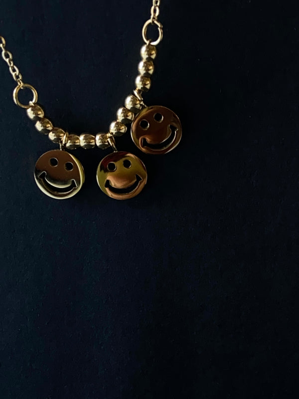 """Amina"" Smiley- Face Anklet"