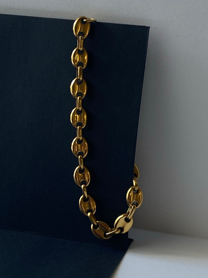 """Samantha"" Gucci Link Chain Anklet"