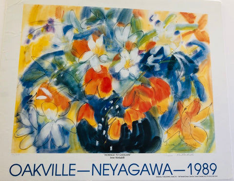 Homage to Gaugin by Irene Mottadelli (Oakville-Neyagawa-1989)