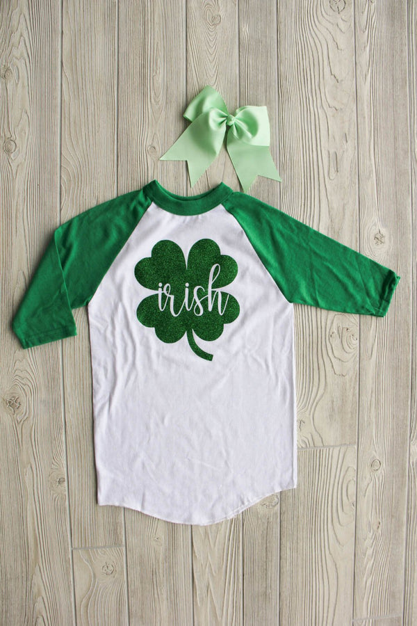 Irish - Kid's Baseball Tee