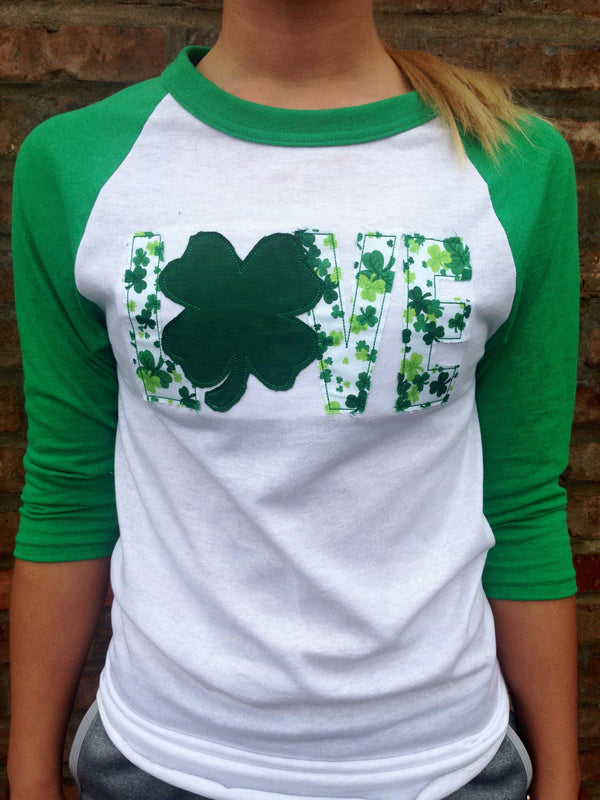 Saint Patrick's Day Baseball Tee