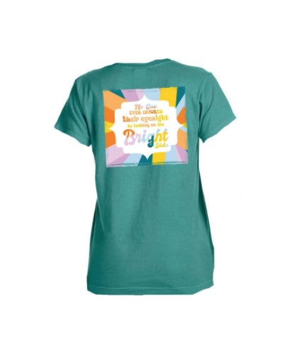 Jane Marie Looking On The Bright Side Tee JM21407T